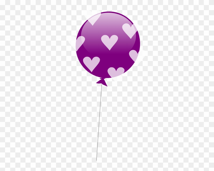 Purple Balloons Clipart - Clip Art #20363