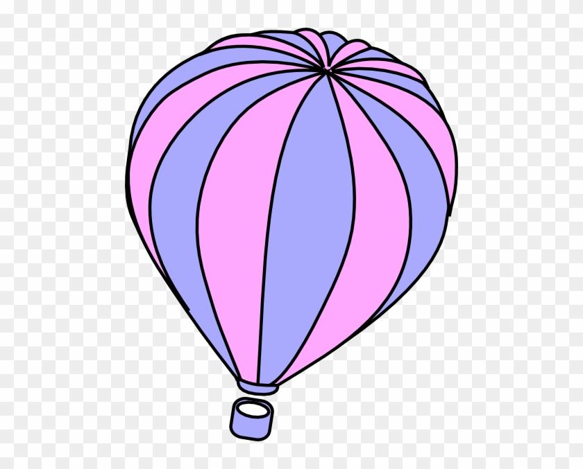 Hot Air Balloon Black And White Hot Air Balloon Clipart - Hot Air Balloon Clipart #20364