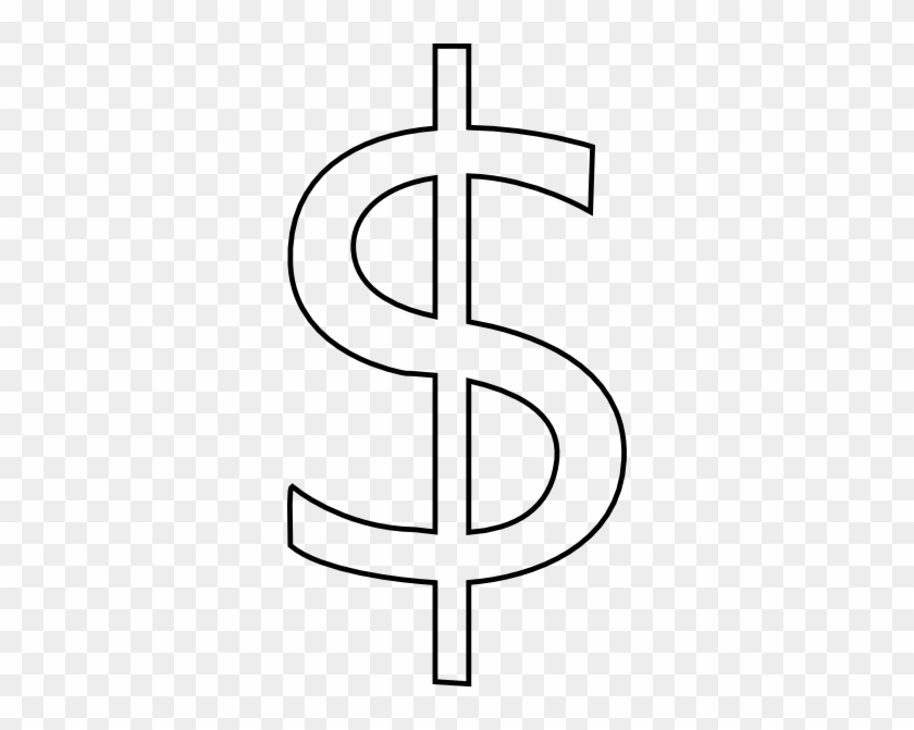 Free Vector Rickvanderzwet Dollar Sign Clip Art - Dollar Sign Clip Art #20368