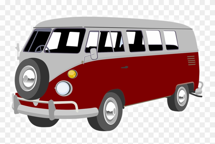 Red Vw Bus Clipart #20427