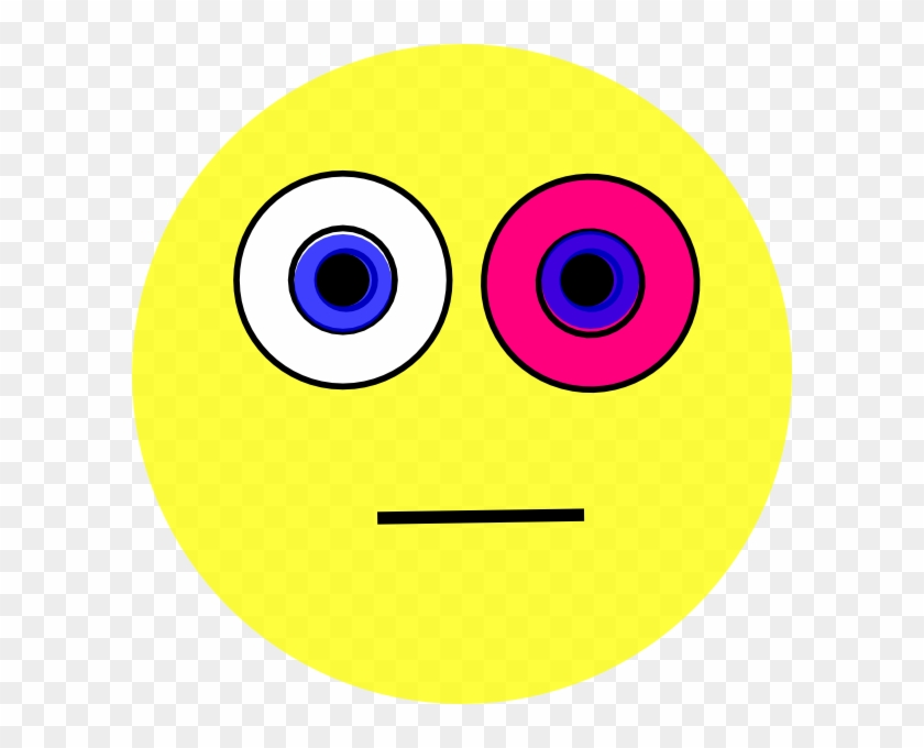 Pink Eyes Clipart Emoticon - Game #20446