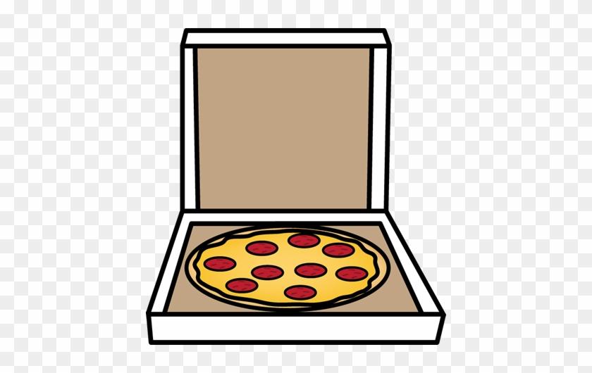 Pizza In A Box - Open Pizza Box Clipart #20447