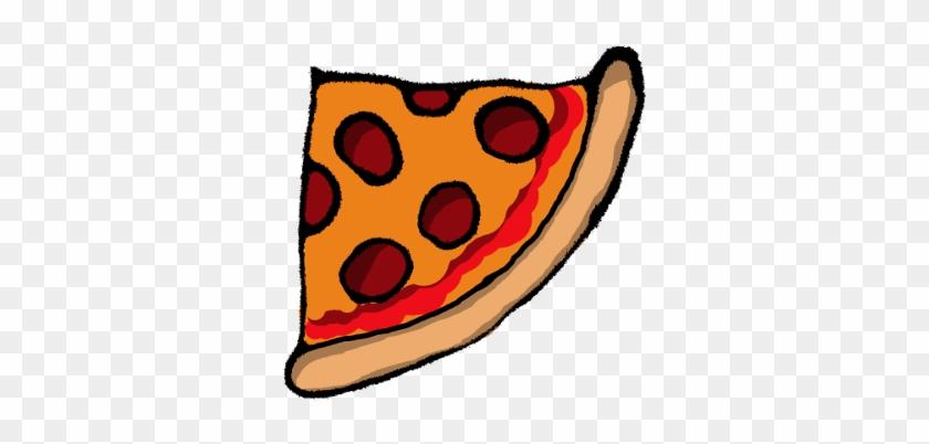 Pizza Hut Pepperoni Take-out Clip Art - Quarter Of A Pizza #20452