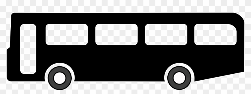 Bus Black And White Bus Clip Art Black And White Free - Bus Clip Art Png #20456