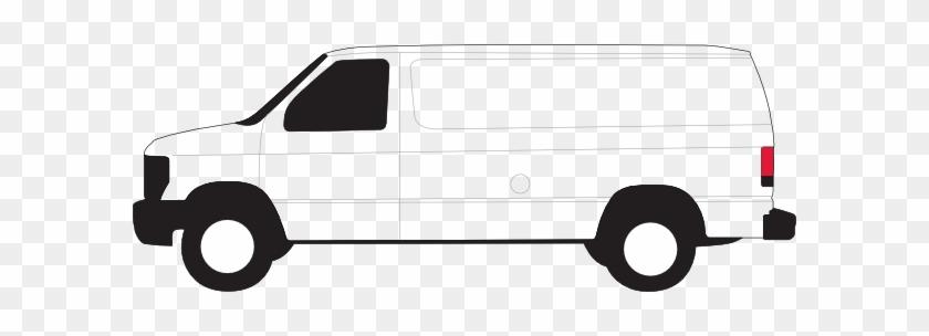 Blank Van Clip Art - Clip Art White Van #20464
