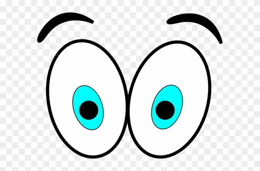 Big Cartoon Eyes Cartoon Eyes Clip Art At Vector Clip - Animated Eyes #20469