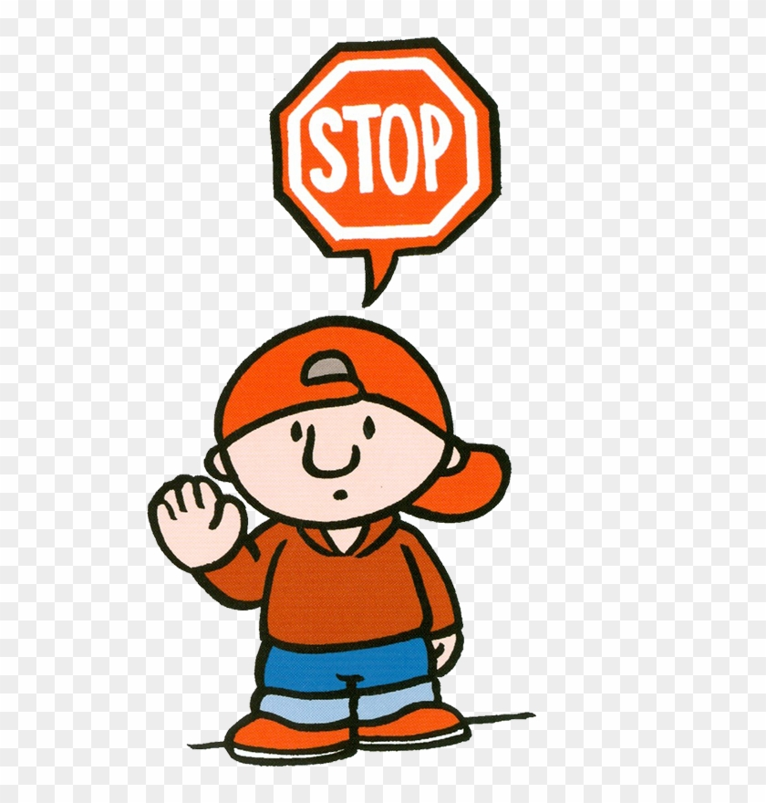 Clip Art, Illustrations - Stop Sign #20477