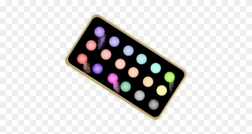 Eye Makeup Clipart - Clip Art Eyeshadow Palette Png #20478
