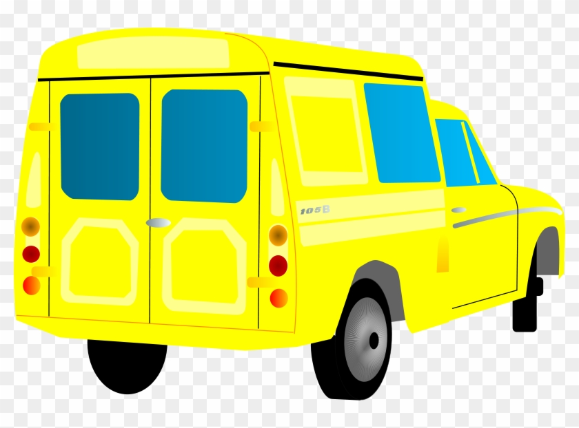 Free Syrena 105b - Truck Clip Art #20479