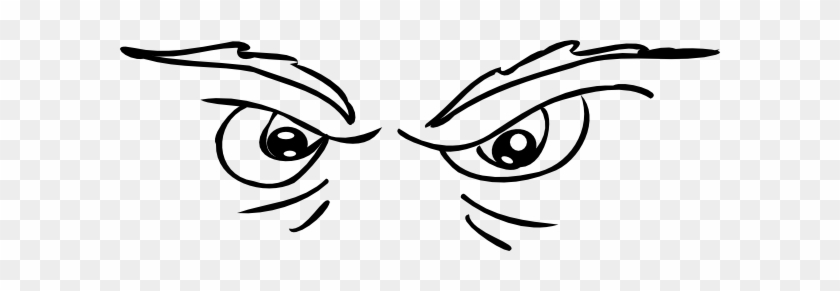 Scary Eyes Clip Art At Clker - Scary Eyes Clipart #20507