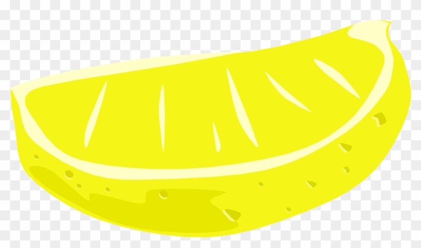 Lemon Slice Clipart Lemon Wedge Clip Art - Lemon Free To Use #20508