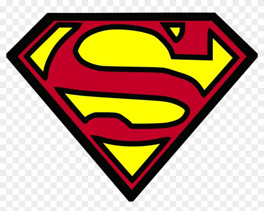 Superman Logo Png Clip Art Image - Superman Logo Png #20544