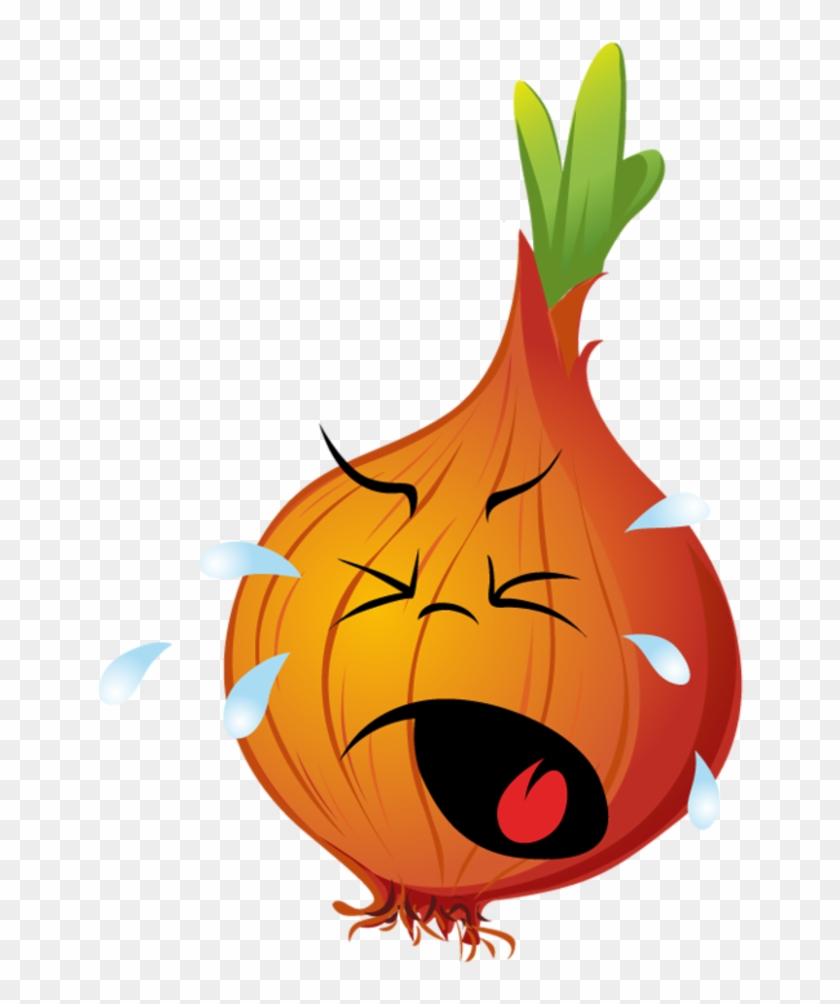 Clip Art Free - Crying Onion Clipart #20560