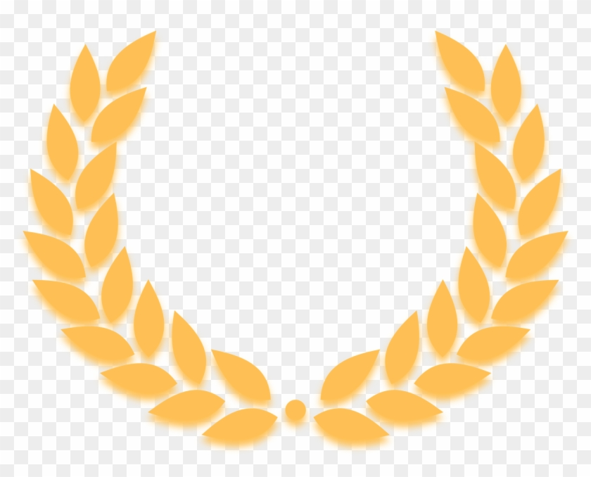 Gold Leaf Wreath Clipart - Laurel Wreath #20567