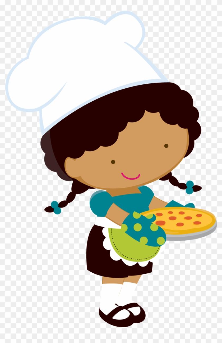 Say Hello Desenho De Boneca Cozinheira Png Free Transparent