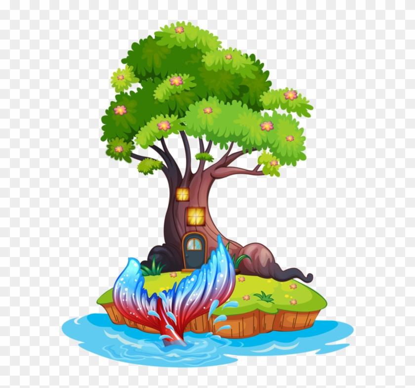 Explore Small Island, Tree Houses, And More - Imagem De Um Menino Debaixo De Uma Arvore #20639