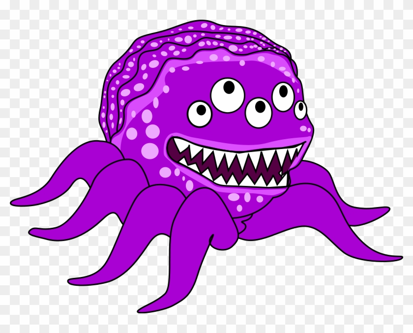 Monsters Clip Art Free Free Clipart Images - Creature Clipart #20641
