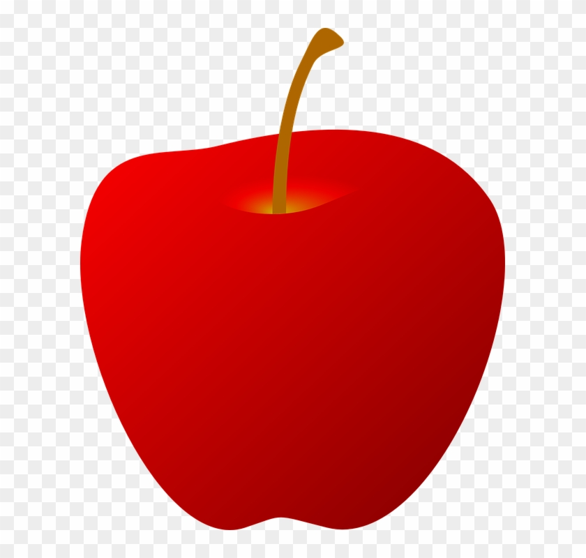 Red Apple Clipart #20679
