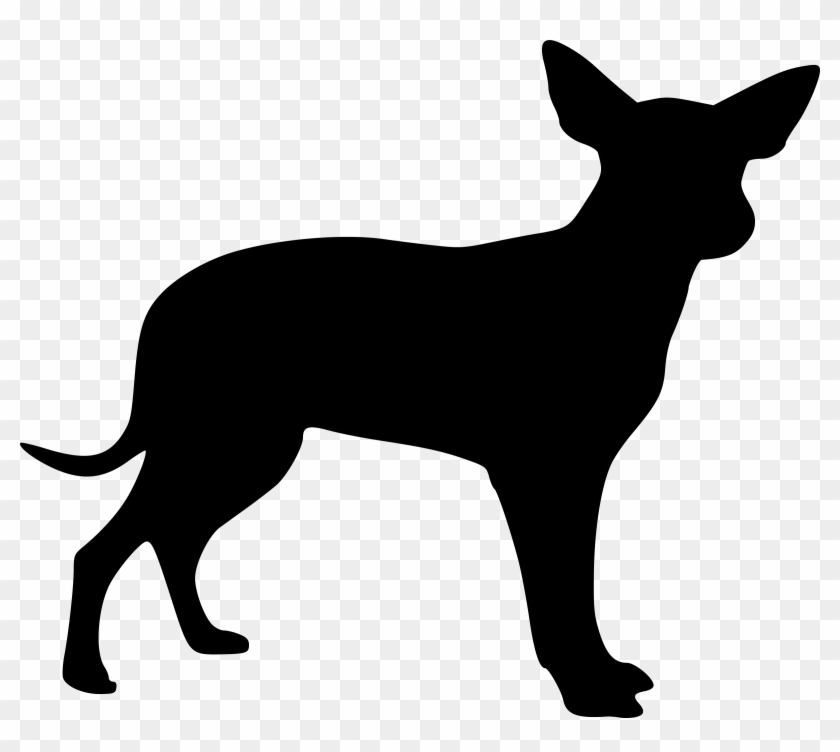 Free Vector Graphic - Small Dog Silhouette #20700