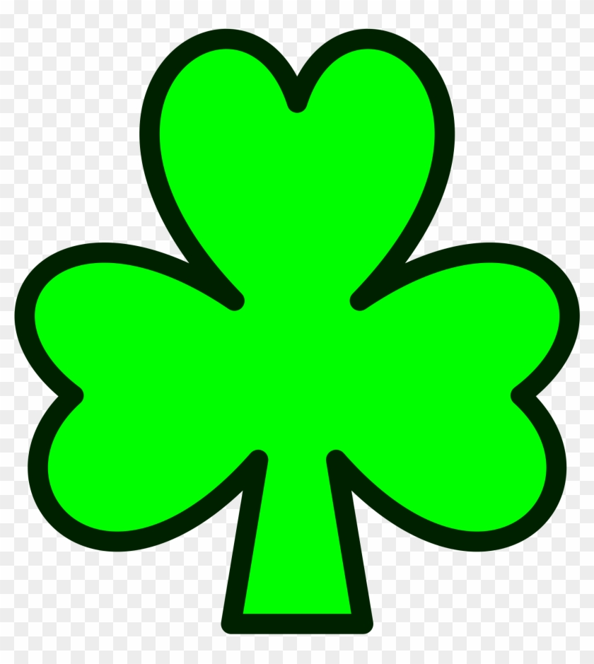 Fileshamrock - Svg - Show Me A Picture Of A Shamrock #20707