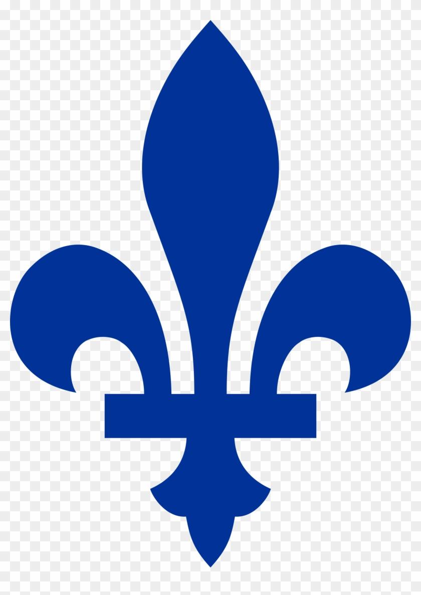 The French Canadian Version Of The Fleur De Lys - Quebec Fleur De Lis #20727