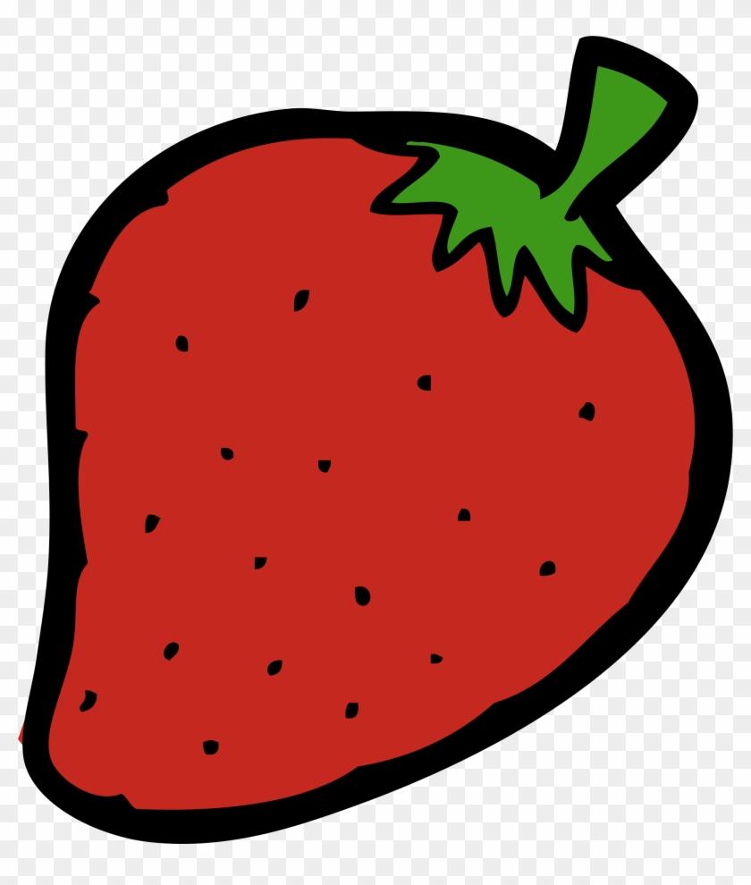 Clipart Strawberry - Melonheadz Clipart Strawberry #20732
