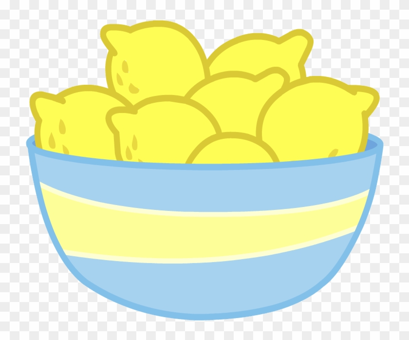 Bowl Of Lemons By B3archild On Clipart Library - Bowl Of Lemons By B3archild On Clipart Library #20775