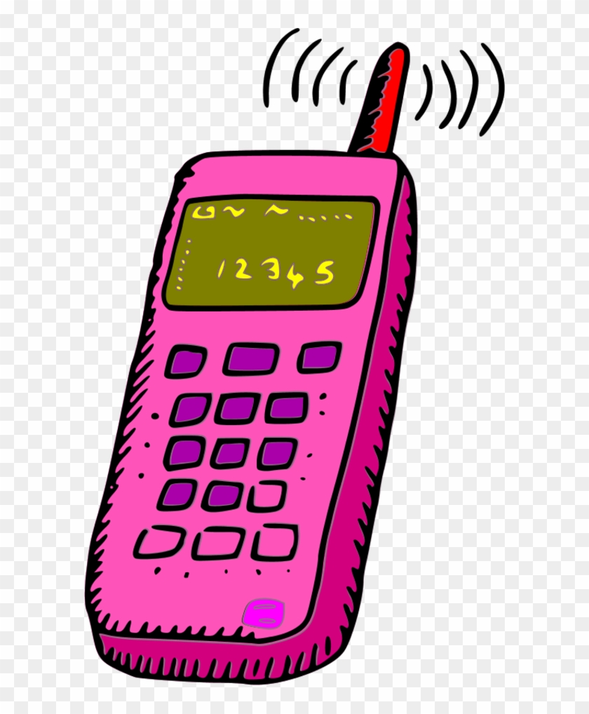 No Cell Phone Clip Art - Cellphone Clipart #20802