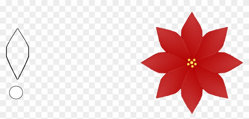 Big Image - Poinsettia Flower Clipart #20812