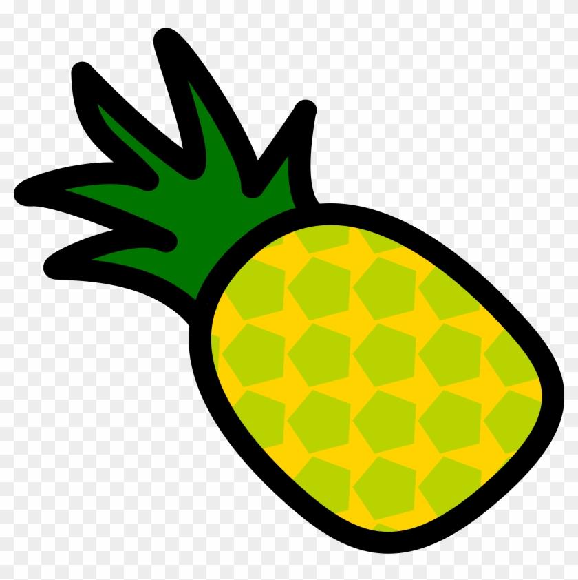 Pineapple Clip Art Free Clipart Images Clipartwiz - Pineapple Clip Art Transparent Background #20819