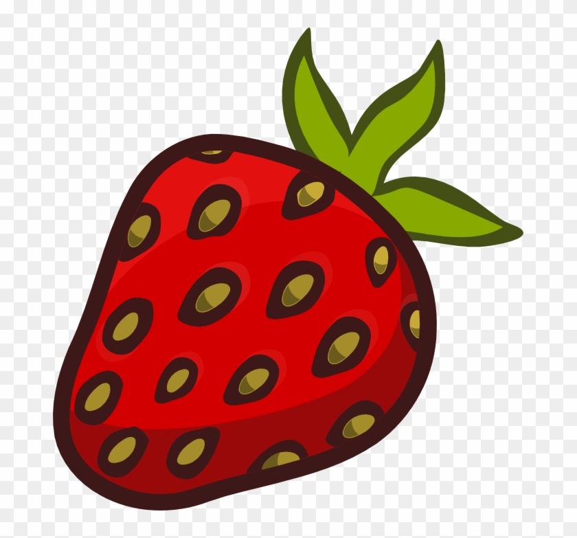 Strawberry Clipart Strawberry Fruit Clip Art Clipartandscrap - Strawberry Clipart #20845