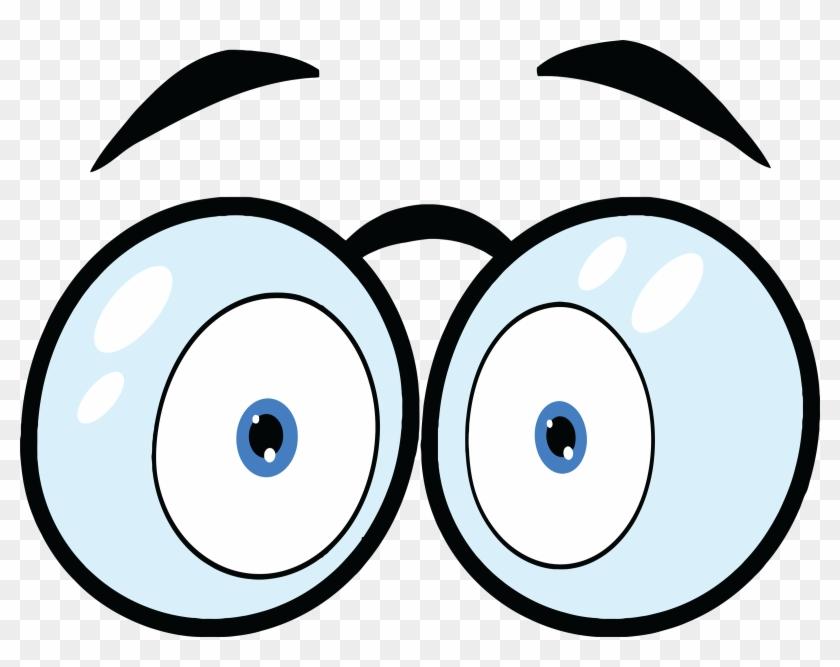 Cartoon Eyes Clipart - Eyes Cartoon #20869