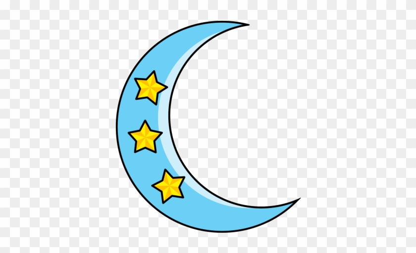 Crescent Moon And Stars Tattoo For Girls ❥❥❥ Https - Moon #20872