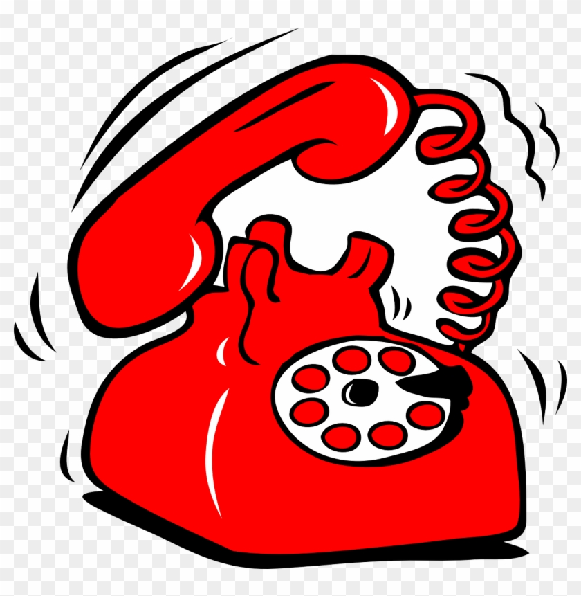 Ringing Phone Clipart #20875