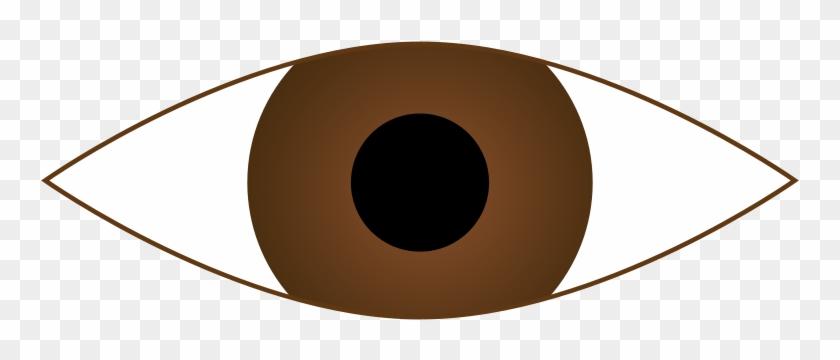 Free Clip Art Eyes - Brown Eye Clipart #20874