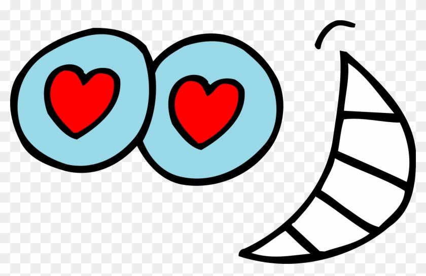 Googly Eyes Clip Art - Heart Eyes Clipart #20879
