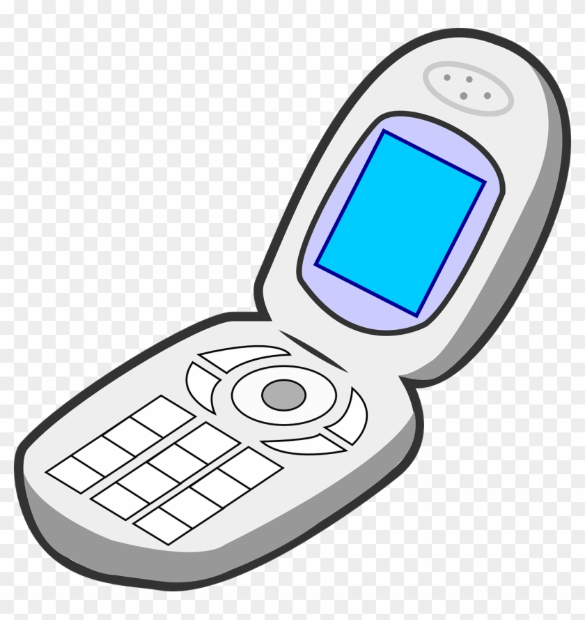Flip Phones For The Visually Impaired Are Still Relevant - Non Living Things Clipart #20908