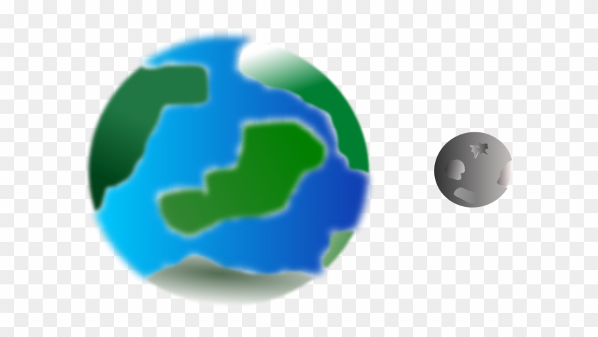 Planet And Moon Clip Art #20911
