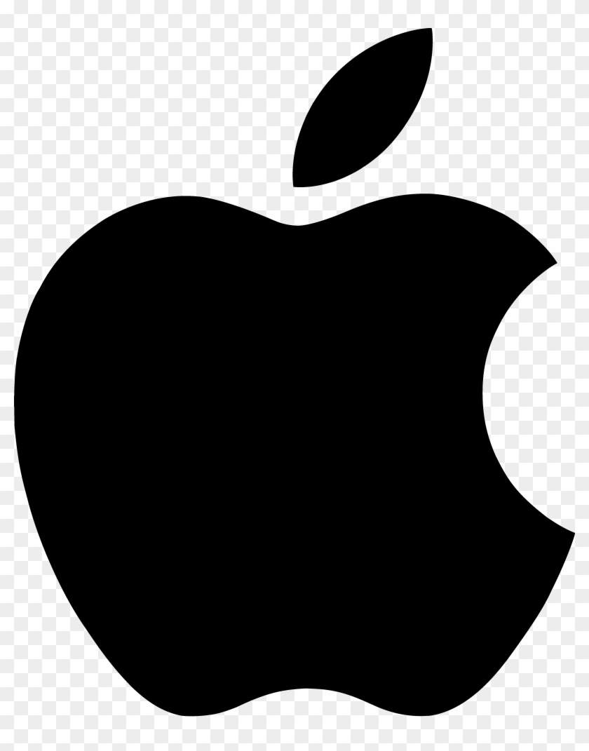 Free Clipart Of Apple Logo - Apple Logo Png Transparent Background #20932