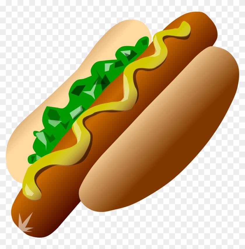 Hot Dog - Hot Dog Clip Art #20926