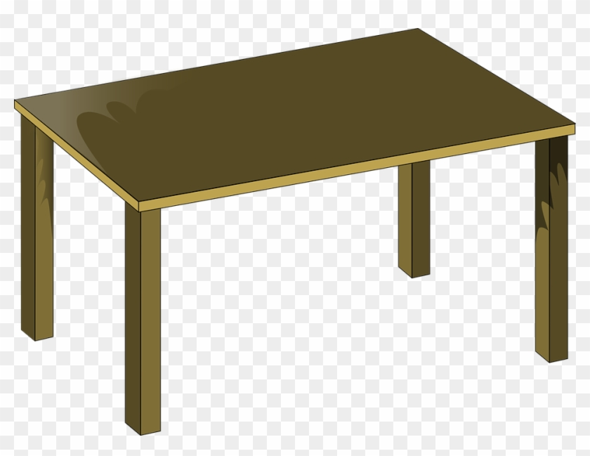 Clipart Info - School Table Clipart #20933
