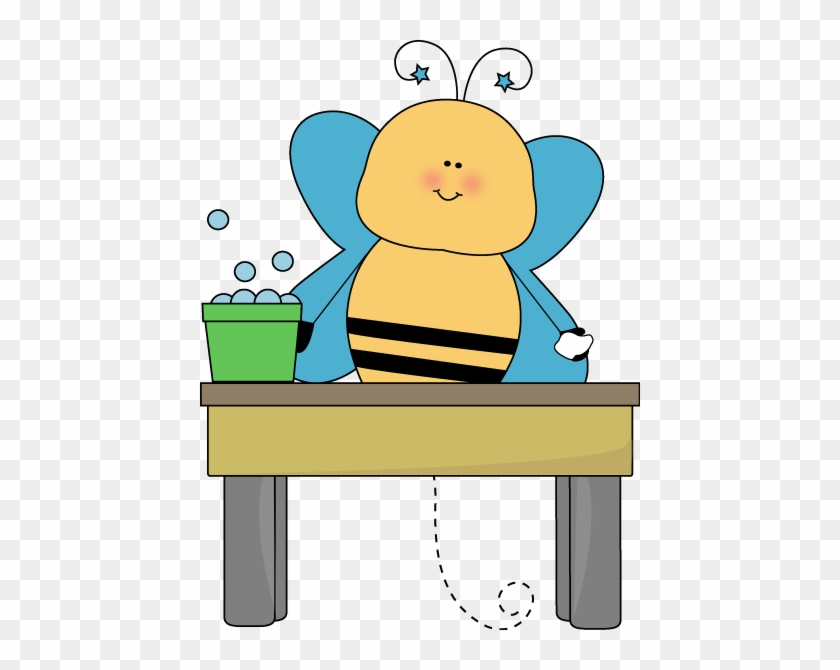 Bee Table Washer - Table Washer Clipart #20946