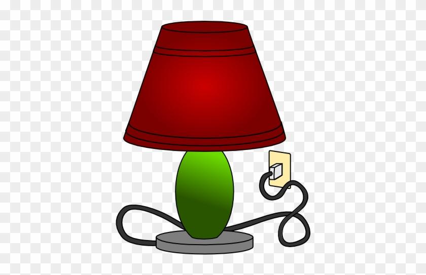 Clipart Of Lamp Table Light Clip Art At Clker Com Vector - Lamp Clipart #20950