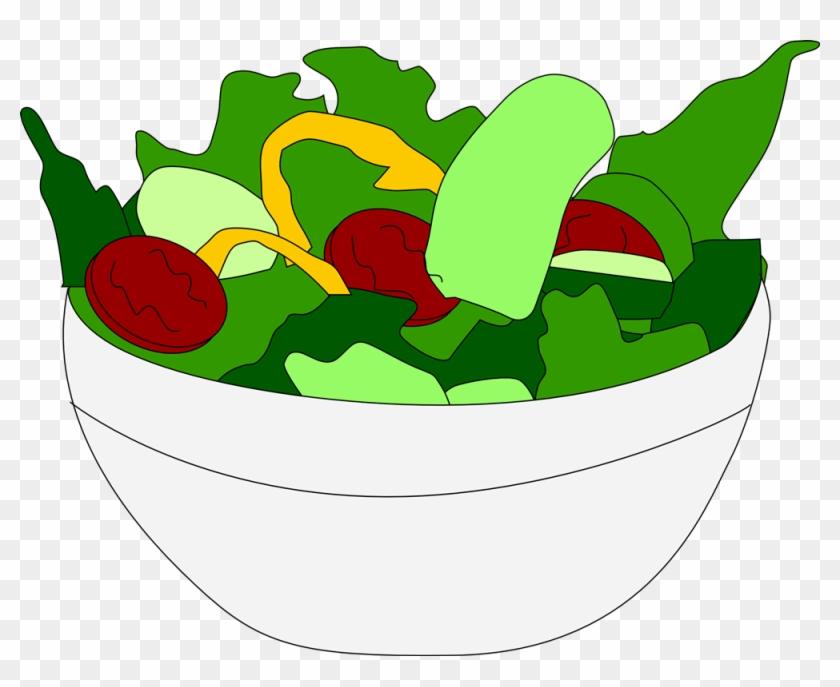 Taco Salad Chef Salad Chicken Salad Fruit Salad Clip - Salad Clipart Transparent Background #20988