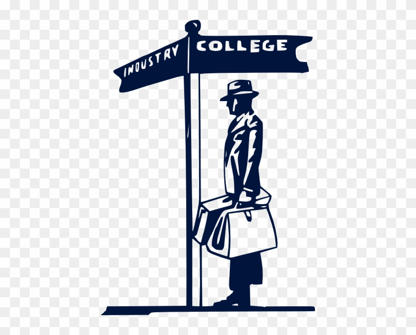 College Clip Art - Students Dropout Of College #21009