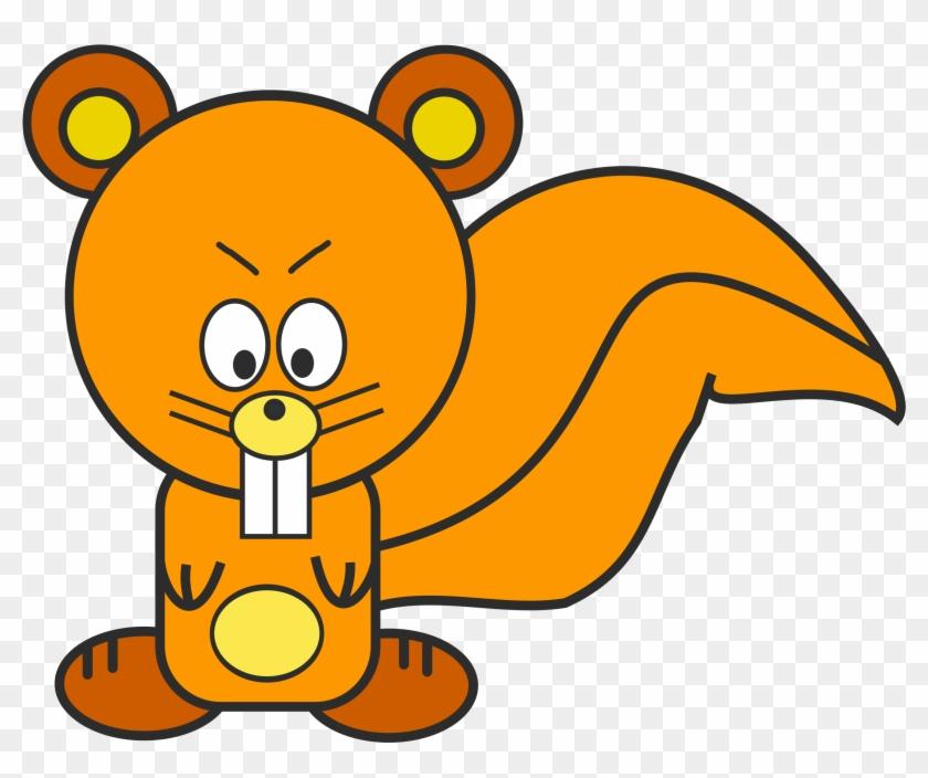 Clipart - Png Cartoon Squirrel #21030