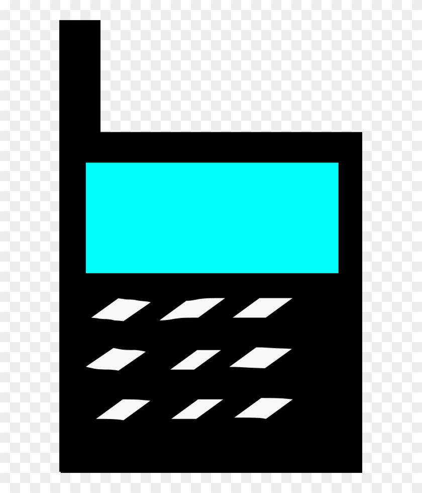 Mobile Phone Svg Vector File, Vector Clip Art Svg File - Mobile Phone Clip Art #21032