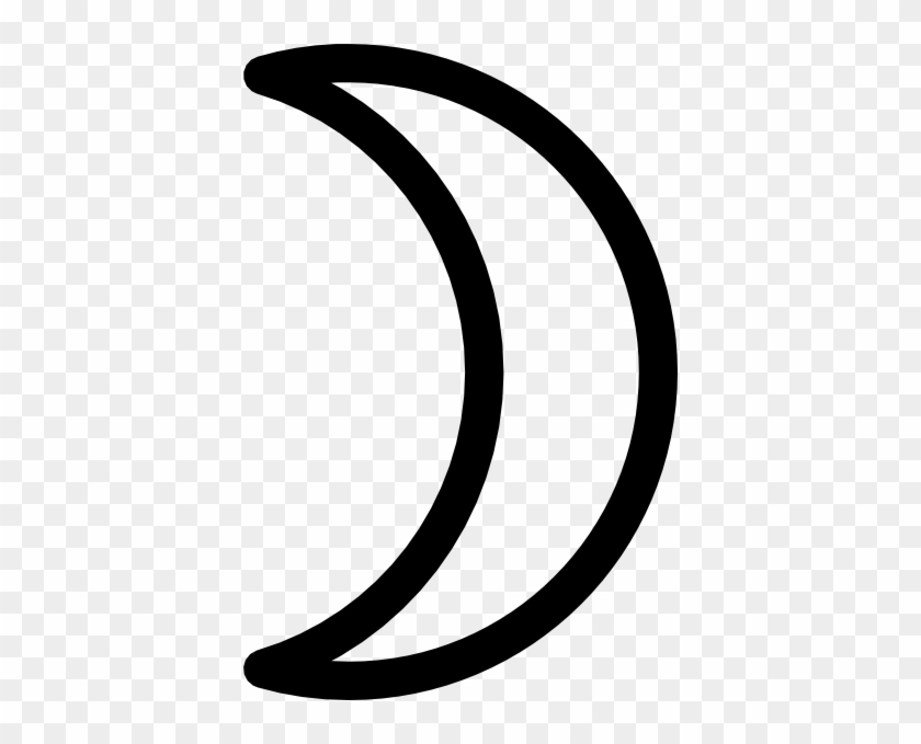 Crescent Clip Art At Clker - Clip Art #21054