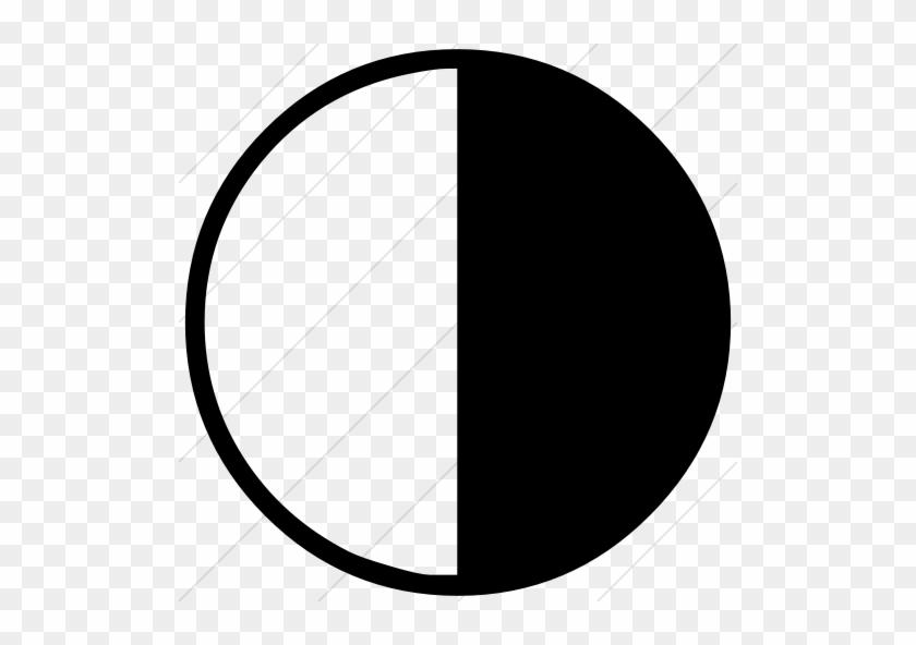 Last Quarter Moon Clipart - Last Quarter Moon Symbol #21078