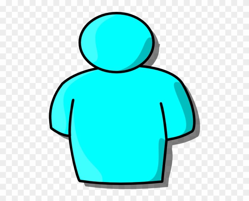 Fresh Inspiration Clipart Person Light Blue Clip Art - Clipart Person #21079